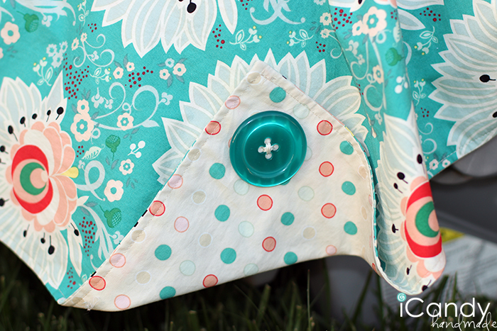Carseat Canopy Button & DIY Carseat Canopy - iCandy handmade