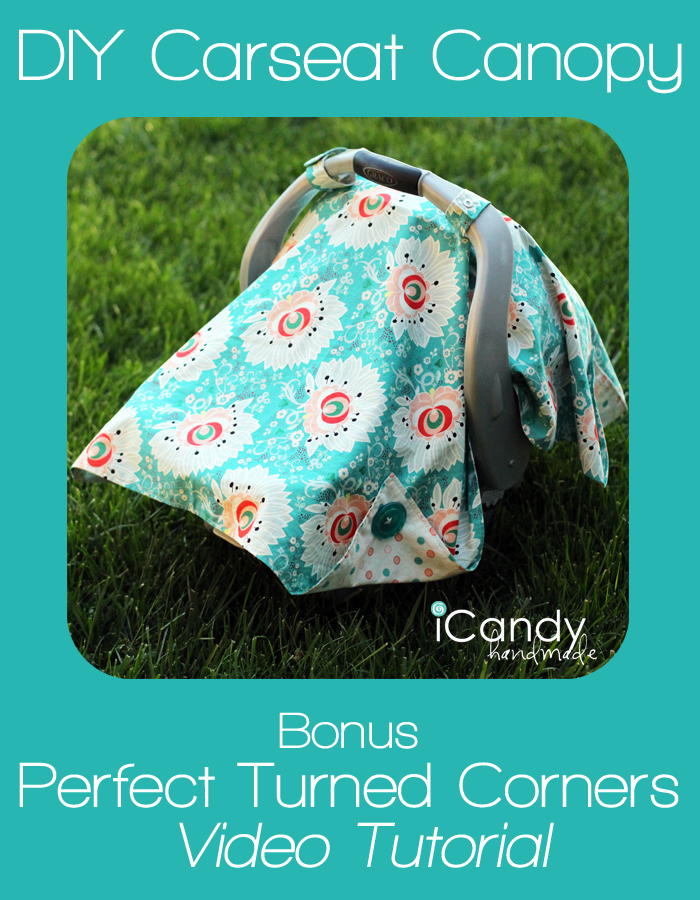 Using my old one as a guide I whipped this new one out in one evening. Carseat Canopy ... & DIY Carseat Canopy - iCandy handmade