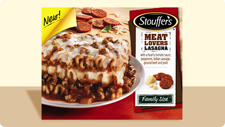 Stouffer's Meat Lovers 2