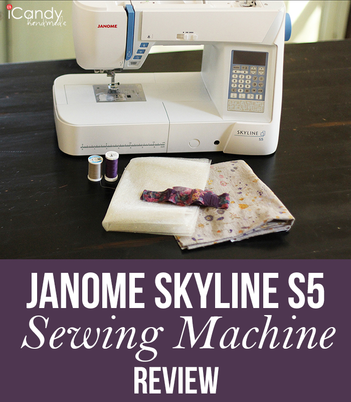 Janome Skyline S5 Review Pin It