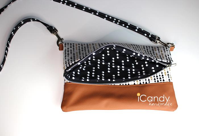 DIY Foldover Clutch Strap Tutorial iCandy1