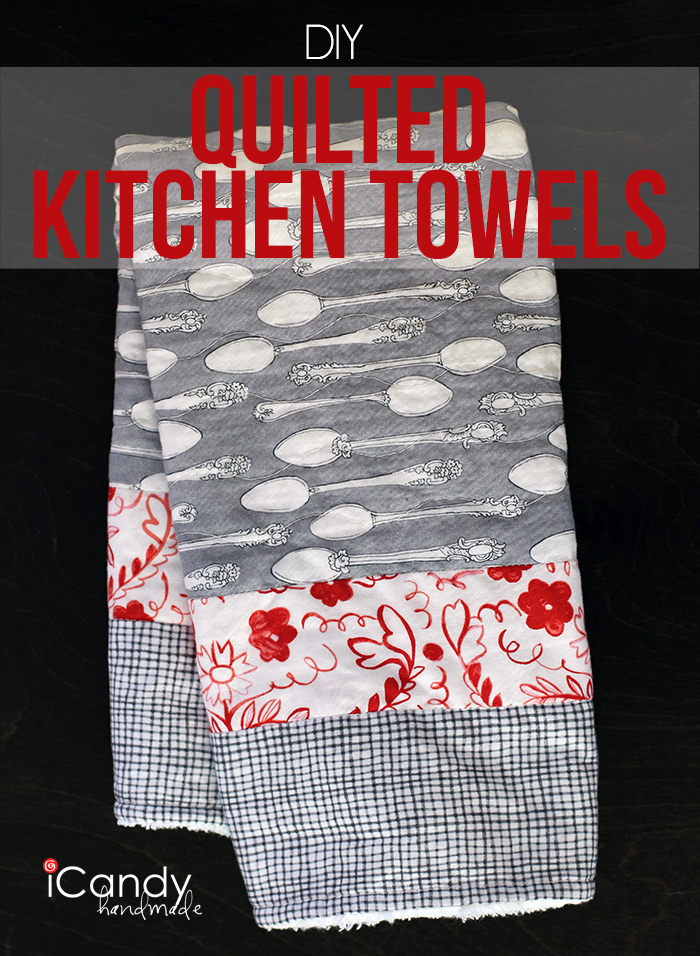 Quilted Kitchen Towel Main