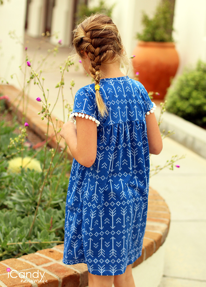 iCandy Everyday Boho Dress Back