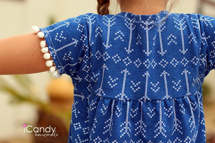 iCandy Everyday Boho Dress Back Close