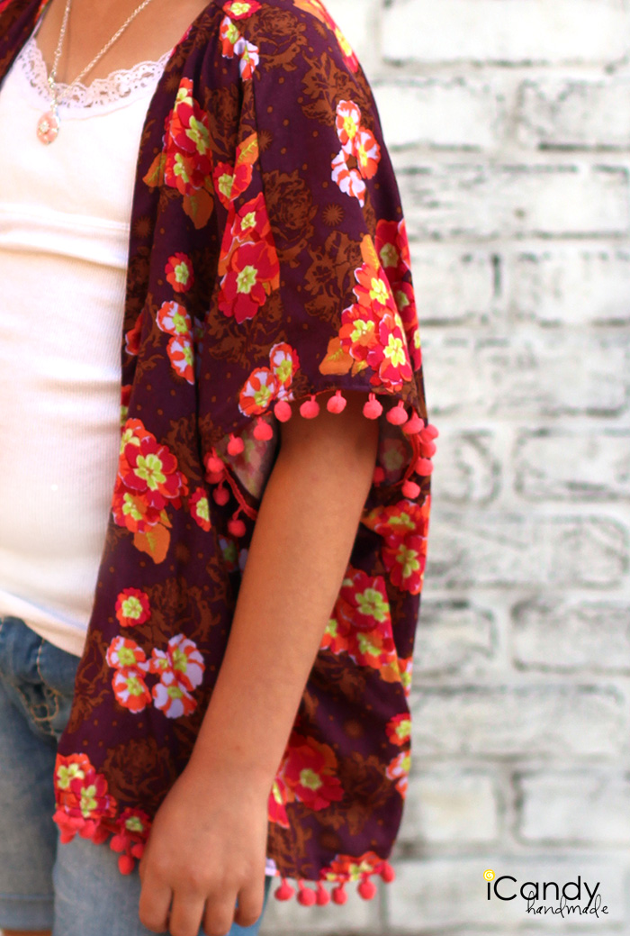 iCandy Girls Pom Pom Kimono 3