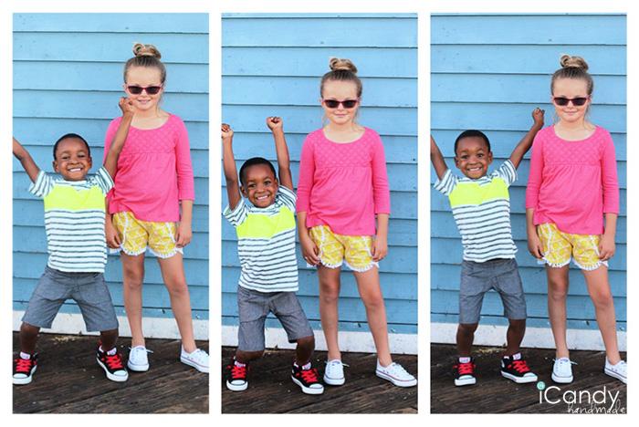 iCandy DIY Kids Shorts3