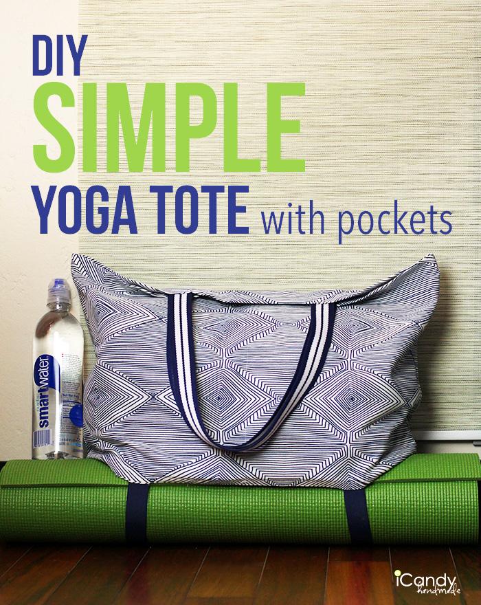 iCandy handmade yoga tote tutorial main