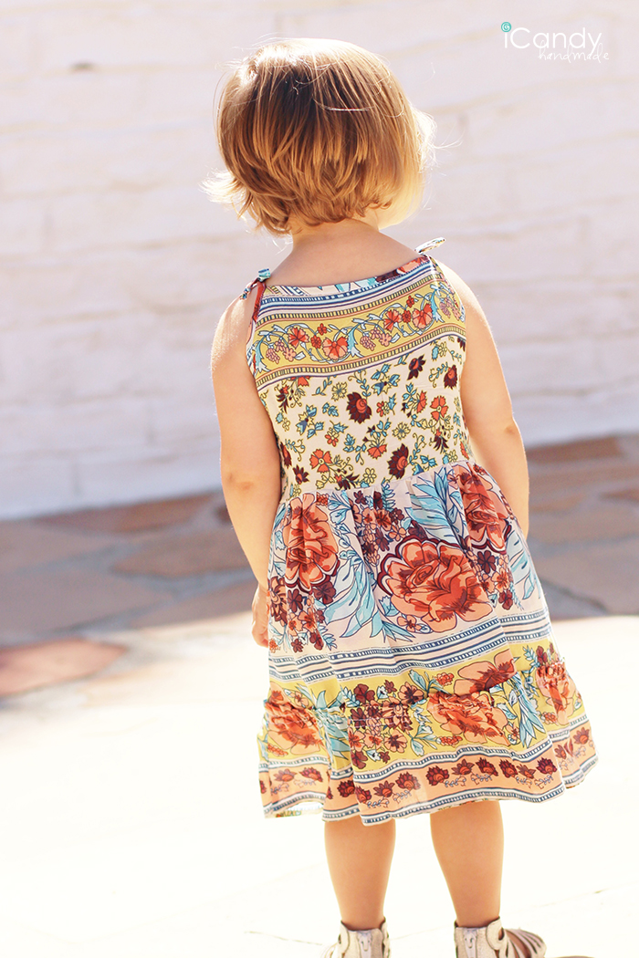 Sundressing Palmer Dress Back - iCandy handmade