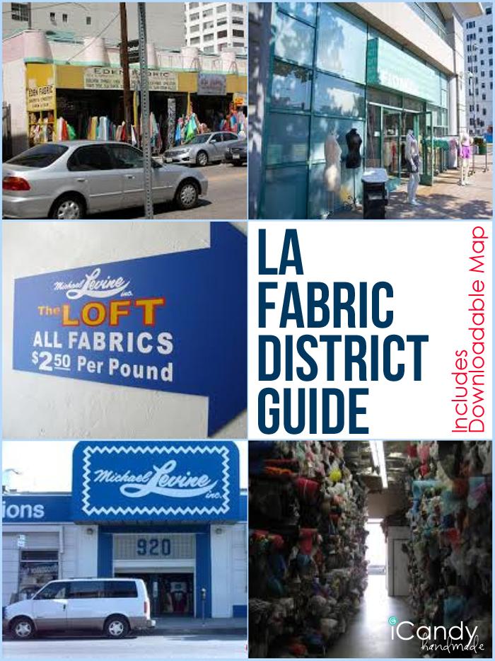 LA Fabric District Guide