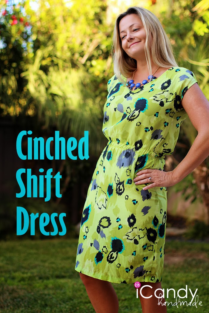 Cinched Shift Dress