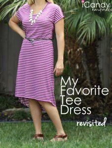My Favorite Tee Dress 2