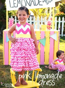 PR&P Week 2: Pink Lemonade in Chevron Dress