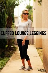 Cuffed Lounge Leggings