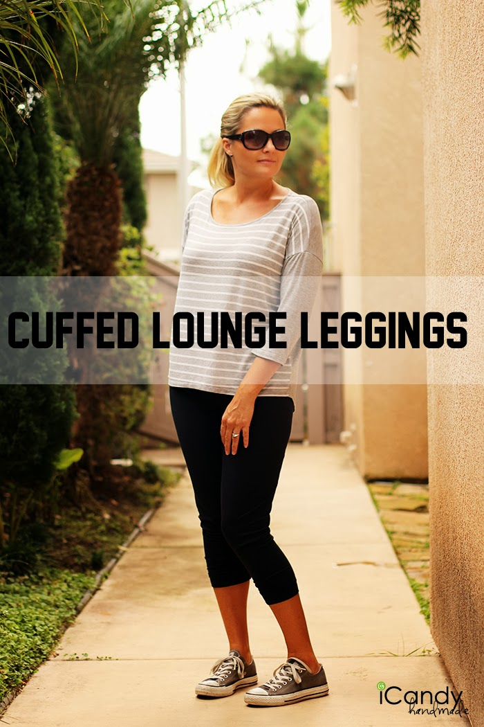 Cuffed Lounge Leggings