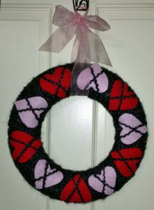 Reader Project: Valentine's Day Wreath