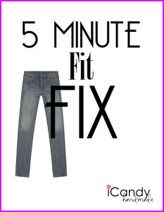 5 Minute Fit Fix