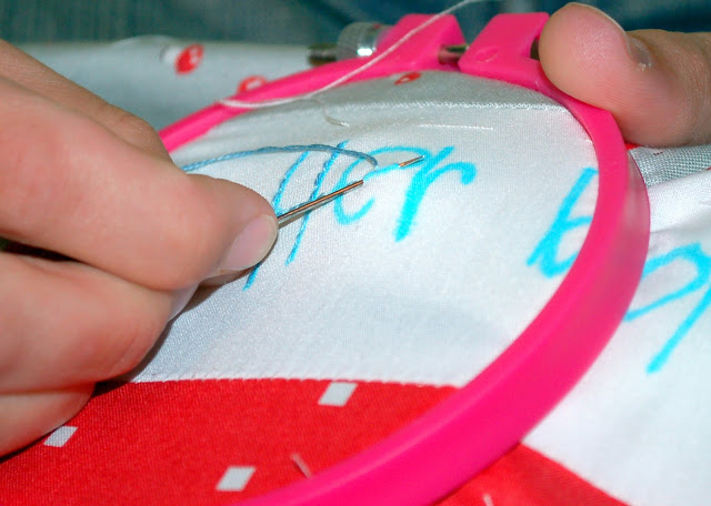Embroidery 101: The Back Stitch