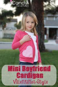 Mini Boyfriend Cardigan-Valentine's Style