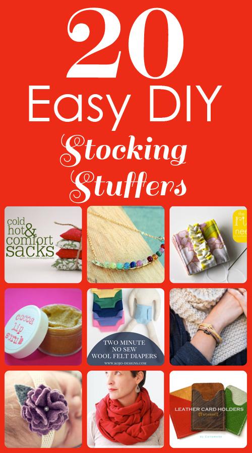 20 Easy DIY Stocking Stuffers