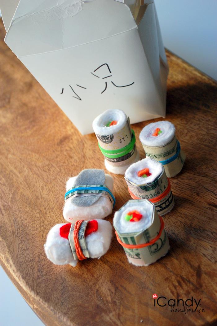 DIY Sushi Gift Idea