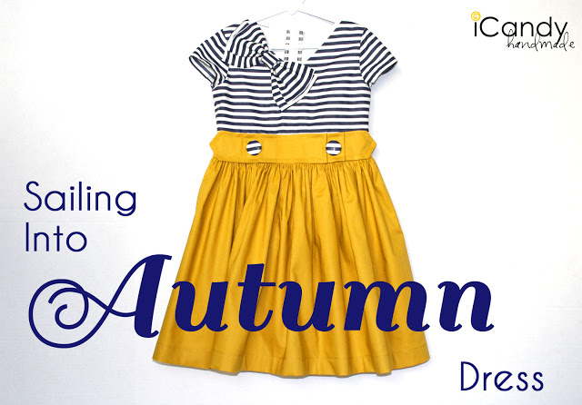 Basic Bodice Design Series: Sailing Into Autumn Dress