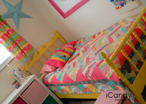 Ivy's Yellow Bed