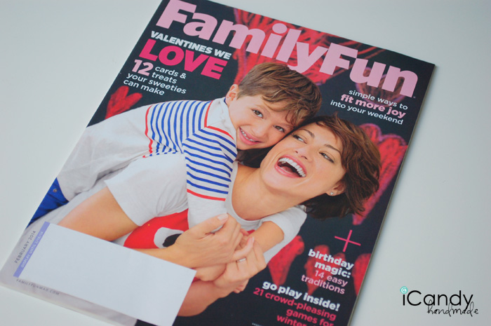 iCandy featured in Family Fun Magazine