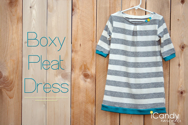 DIY Boxy Pleat Dress