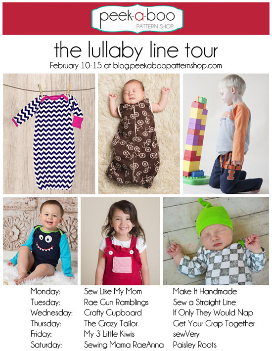 peek-a-boo Lullaby Line Tour