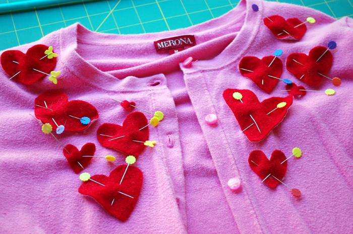 vday sweater refashion 4
