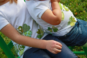 DIY Shamrock Chic Tee