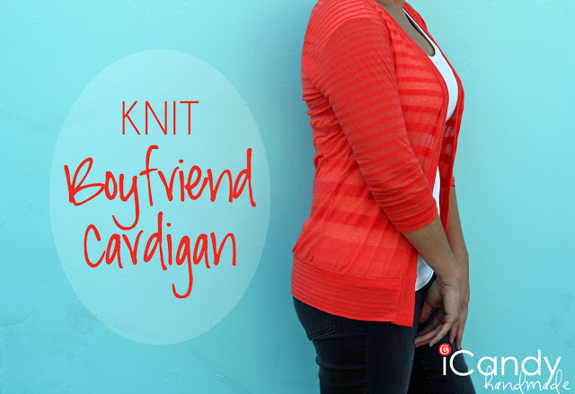 Everyday Basics: Knit Boyfriend Cardigan