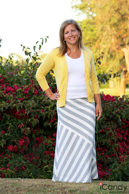 Mismatched Maxi Skirt