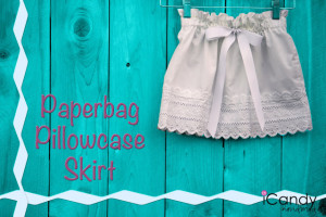 Paperbag Pillowcase Skirt