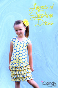 DIY Layers of Sunshine Dress