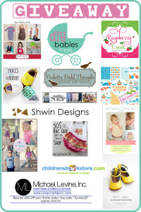 DIY Babies Giveaway Winners!