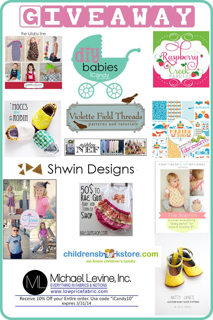 DIY Babies Giveaway Winners!