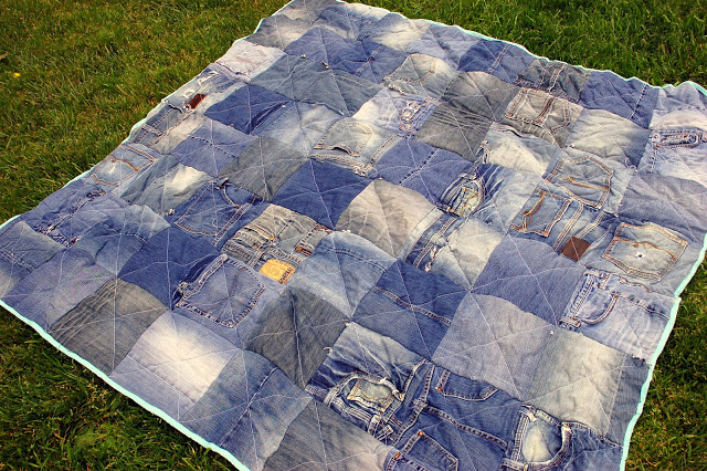 DIY Denim Quilt