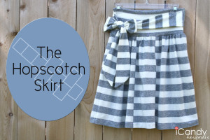 DIY Hopscotch Skirt