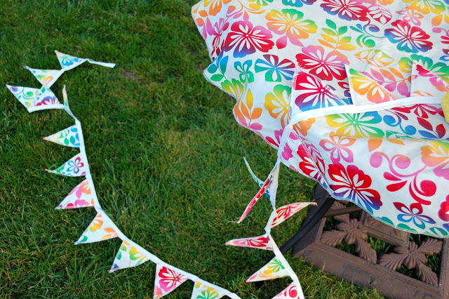 Vinyl Tablecloth and Bunting
