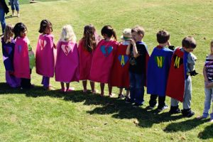 Princess and Superhero Birthday Party Idea