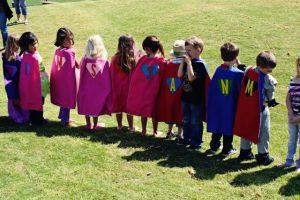 Princess and Superhero Birthday Party Idea