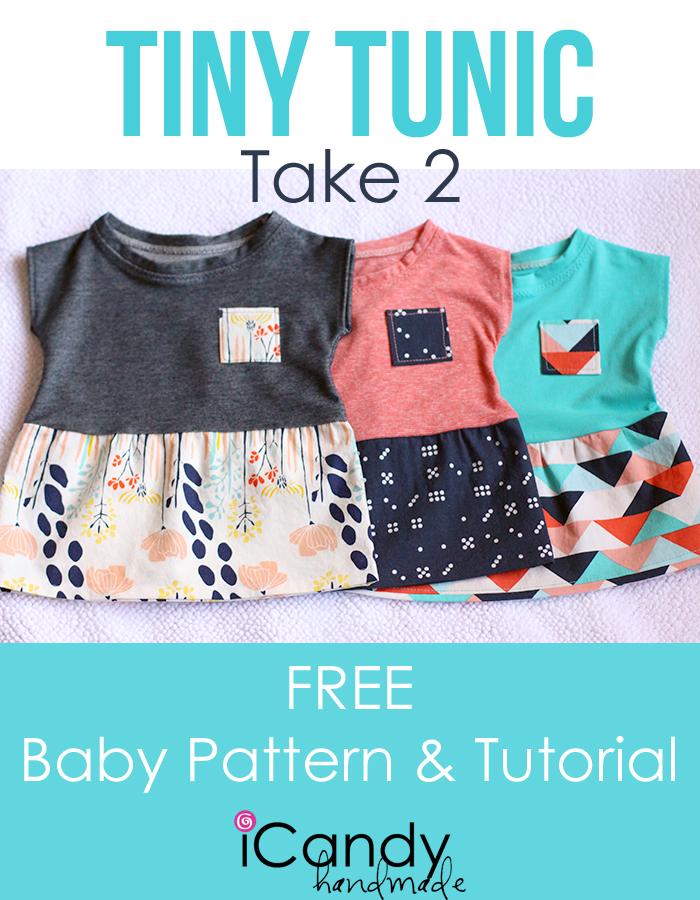 Tiny Tunic Take 2 Free Pattern
