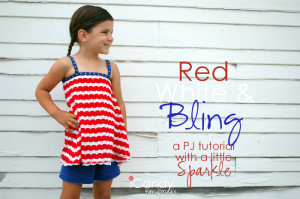 red white and bling