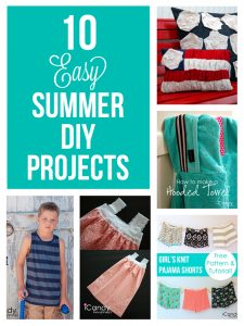 10 Easy Summer DIY Projects