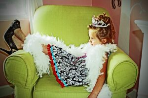 DIY Fancy Nancy Dress