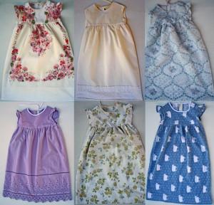 DIY Pillowcase Nightgowns