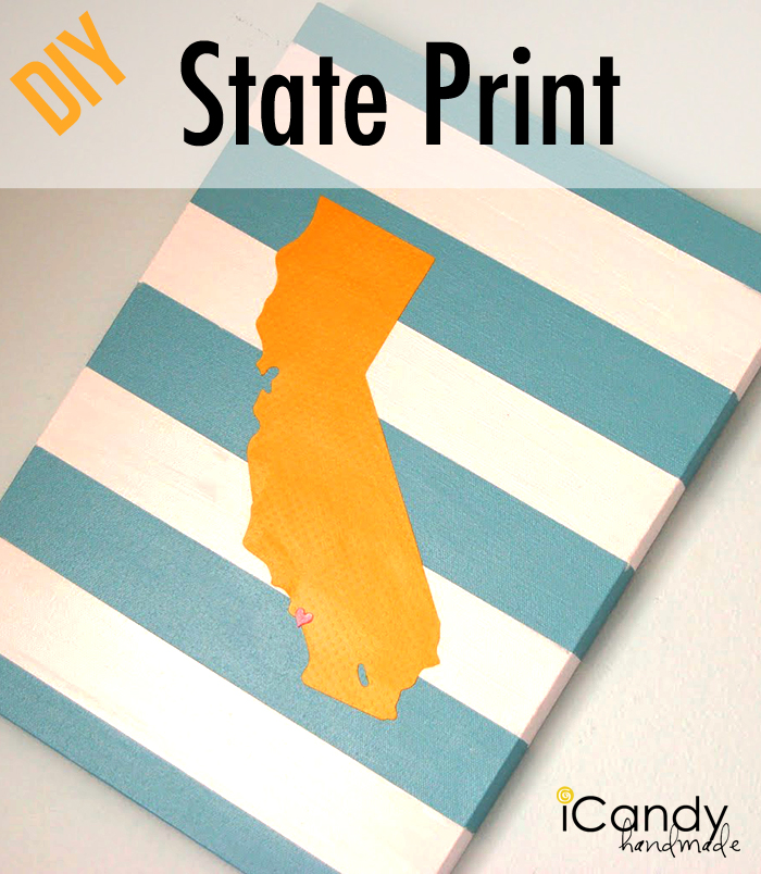 DIY State Print