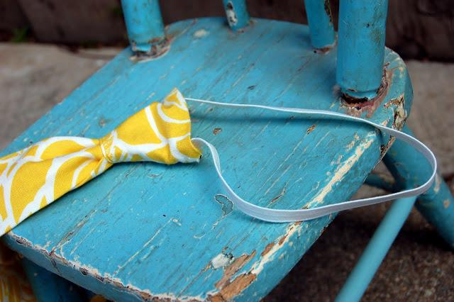 DIY Faux Tie