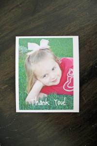 DIY Cheap 'n' Easy Thank-You Cards